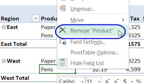 excel pivot table tutorial 2010 excel pivot table field settings