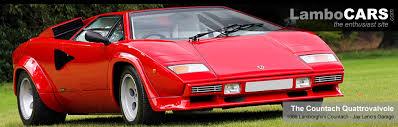 1986 lamborghini diablo leno garage 1986 lamborghini countach quattrovalvole the