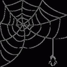 cute halloween gif spider web clipart clipartion com