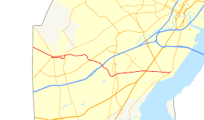 Delaware Map Usa by Delaware Route 273 Wikipedia