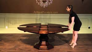 Expandable Round Dining Room Tables Round Expandable Dining Table For Sale Stunning Expandable Dining