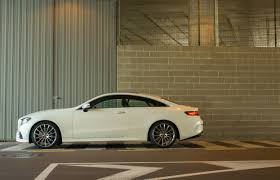 pictures of mercedes e class coupe 2018 mercedes e class coupe review autoguide com