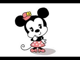 draw chibi minnie mouse