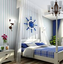 Blue And White Bedroom Wallpaper Decorating Ideas Dazzling Decorating Ideas Using Rounded White