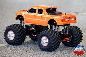 rc monster truck racing monster orange i u2013 outlaw retro trigger king rc u2013 radio