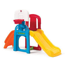 amazon com step2 game time sports climber and slide toys u0026 games