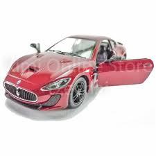 pink maserati kinsmart diecast car 1 38 maserati granturismo mc stradale red