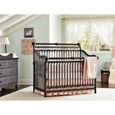 Baby Convertible Cribs Furniture Babys Cirque Metal Convertible Crib