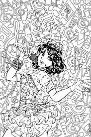 illusions coloring pages 318 best music coloring pages for adults images on pinterest