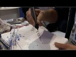 3doodler 2 0 first impressions 3doodler the world u0027s first 3d printing pen demo youtube