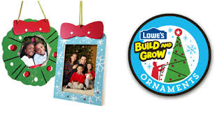 lowe s free ornaments build grow workshop