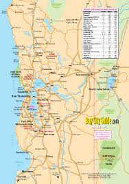Travel Map Of Usa by North Of California Map California Map