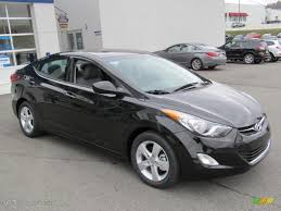 2013 hyundai elantra black midnight black 2013 hyundai elantra gls exterior photo 73149150