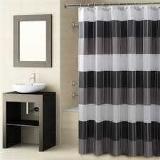 Shower Curtains Black Shower Curtains Vinyl Fabric Croscill