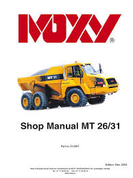 doosan shop manual mt 26 31 cylinder engine