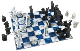 Buy Chess Set by Epbot My Harry Potter Wizards U0027 Chess Set Makeover
