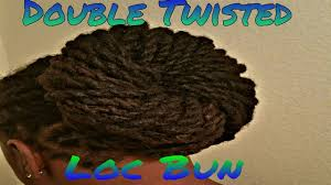 Different Hairstyles For Dreads Double Twisted Loc Bun For Long Dreadlocks On Men Youtube