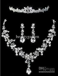 crystal rhinestone necklace images Elegant bridal jewelry wedding sparkle crystal rhinestone crown jpg