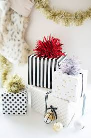 diy sparkly gift toppers pottery barn
