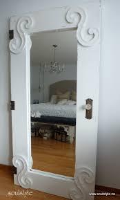 standing full length mirror door ikea mirror doors and ikea hack