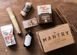 food gifts for men last minute gift idea for men mantry artisan food crate woof