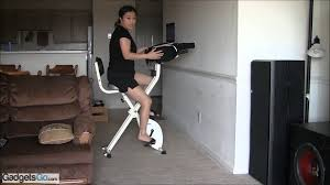 Recumbent Bike Under Desk by Fitdesk Exercise Bike Review Youtube