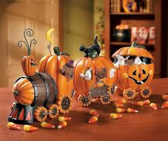 Halloween Decoration Terrific Halloween Decorating Ideas Indoor With Wooden Table