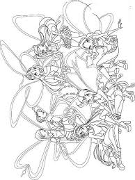 winx club coloring pages download print winx club coloring pages