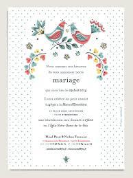 texte faire part mariage faire part de mariage romantique et vintage illustré d oiseaux et