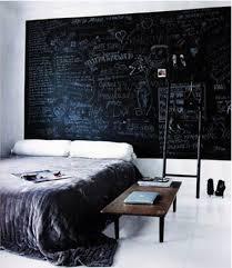 chambre noir et blanche déco chambre noir et blanc et gris idées chic deco cool