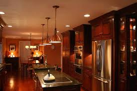 kitchens with stainless appliances what color appliances with cherry spice cabinets stainless