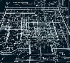 blueprint abstract dark background vector u2014 stock vector emaria