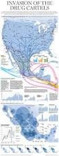 Map Of Sinaloa Mexico by Map Illegal Drug Flow And Cartel Presence Of Mexico And The