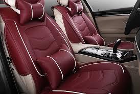 Vehicle Leather Upholstery Custom Leather Seat Covers For Cars Trucks U0026 Suvs U2013 Carid Com