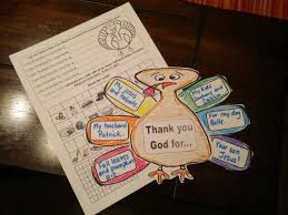 three free printable activities for a thanksgiving themed lesson