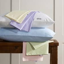 vantona plain dye pure cotton easy care white duvet cover sets