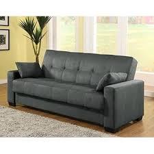 Sofa Sleeper With Storage Pearington Microfiber Sofa Sleeper Bed Lounger With Storage