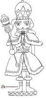 trace able and coloring page for the nutcracker collab with ginger