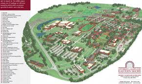 Map Of Md Umes Resources And Information Campus Map