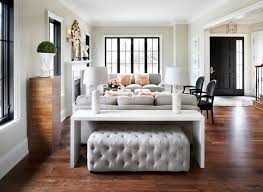 Sofa Table With Stools Mixing A Sofa With Tables And Chairs When And How To Do It