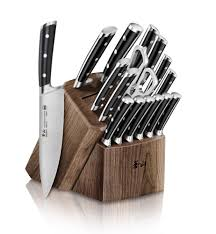 Kitchen Knives Block Set Cangshan Ts Series 1020885 Sandvik 14c28n Swedish Steel Forged 17