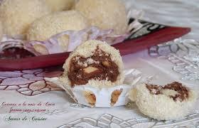 un amour de cuisine chez soulef gateau algerien boulettes a la noix de coco amour de cuisine