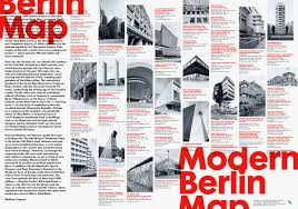Map Of Modern Europe by Explore A Lovely Map Of Berlin U0027s 20th Century Architecture Wired