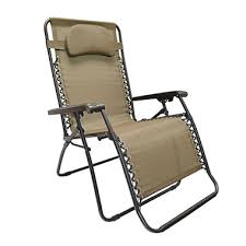 caravan sports oversized zero gravity chair beige sam u0027s club