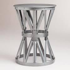 Metal Accent Table Pottery Barn Kids Jordan Metal Side Table Copycatchic