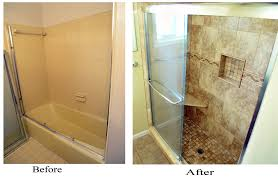 bathroom remodeling ideas before and after shower diy before and after bathroom renovation ideas