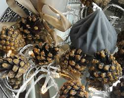 pine cone table decorations pine cone table decoration etsy uk