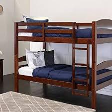 Bunk Bed On Sale Walker Edison Solid Wood Bunk Bed Espresso