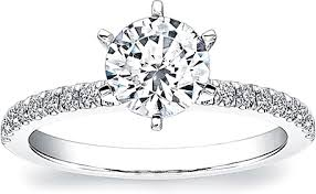 6 prong engagement ring coast 6 prong engagement ring lc5244