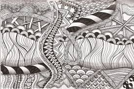 zentangle printable coloring pages patterns patterns kid